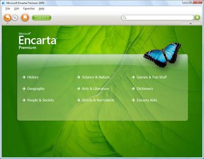 microsoft encarta 2009 free full version