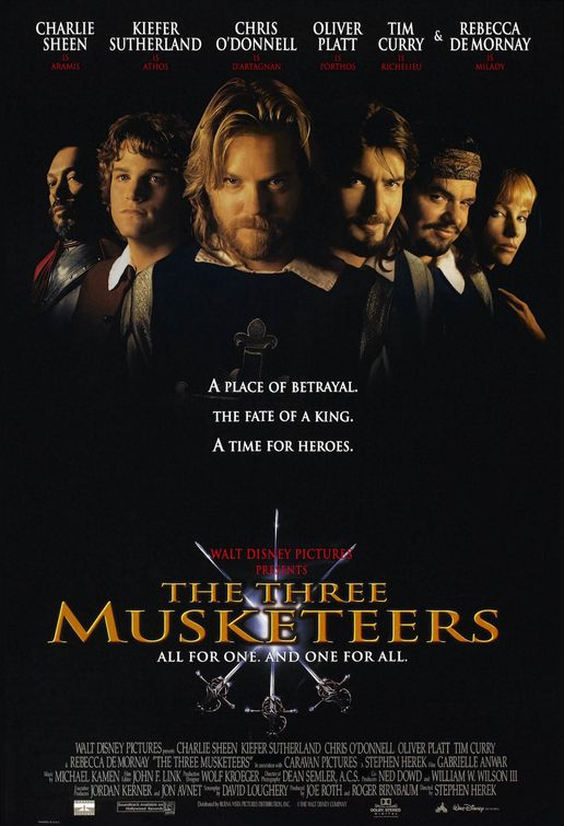 Vengeance of the Three Musketeers movie