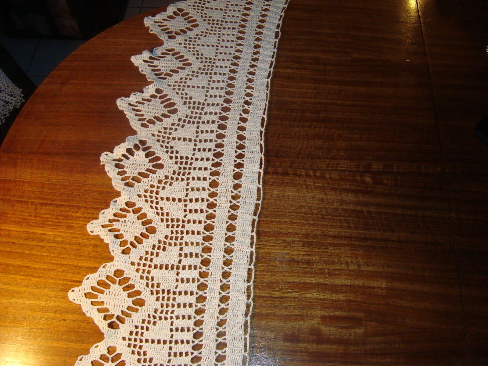 Manualidades del sur tejido a crochet - Cenefas de crochet ...