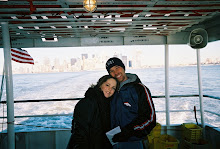 Kenny and I in New York - Feb. 2004