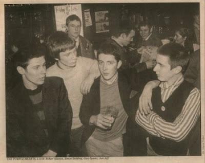 Los Purple Hearts en marzo del 79