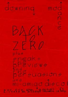 Back To Zero