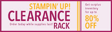 Stampin' Up! Clearance Rack