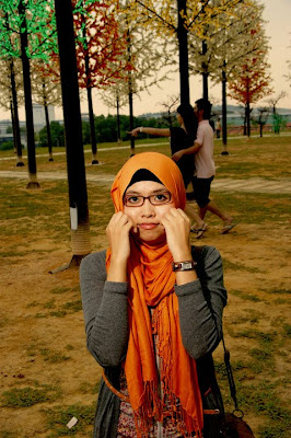 Hello! she's NUR ALFAH  - Saturday