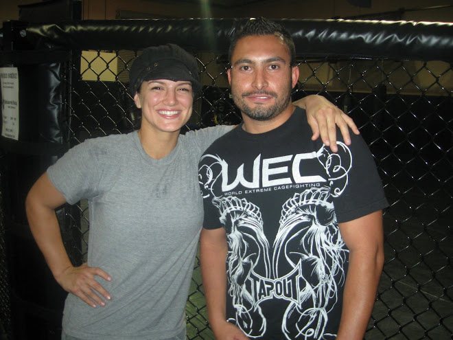 One of the best-looking, toughest girls in MMA