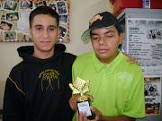Nosso campeão Allan com Elvis