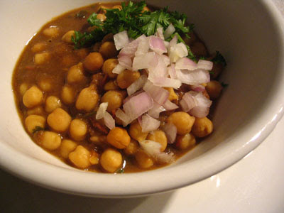 Chickpeas with Mango Powder (Amchoor Chana)