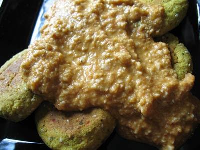 Chickpea Paneer Kofta in a Creamy Cashew Tomato Sauce