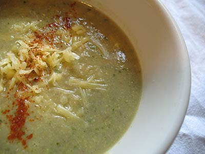 Roasted Corn and Jalapeño Cheese Soup