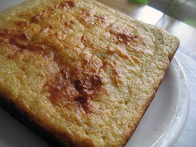 Cornmeal Johnny Cake