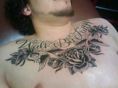 News Tatoo Japanese Art Chest Piece Flower Design Tattoos