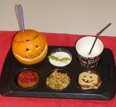 Muffin Tin Monday Halloween theme