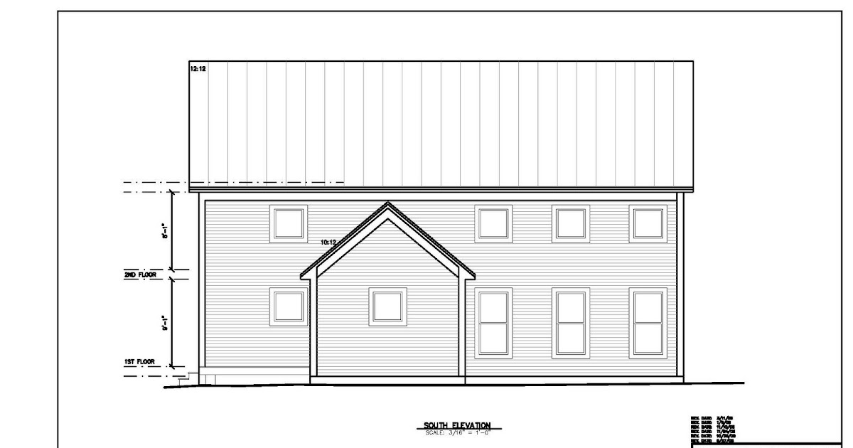 Building Green In Vermont Revised House Plans