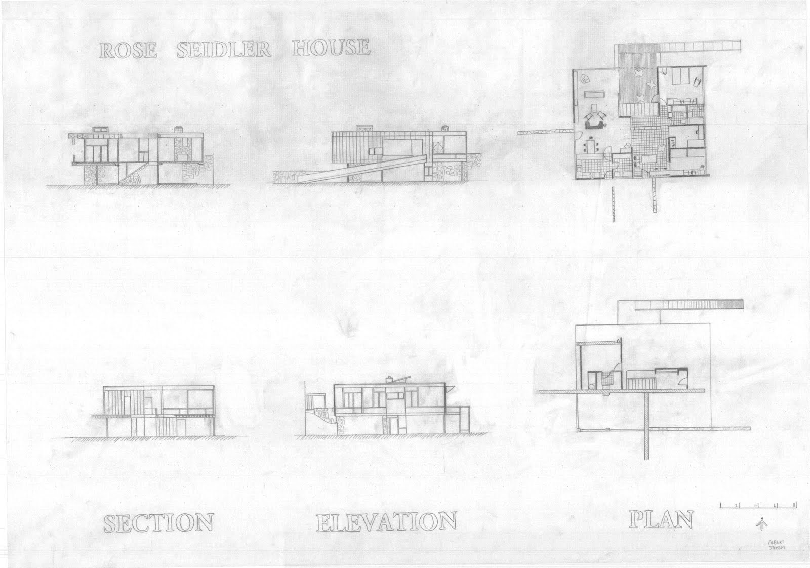 Elevation Plan Profile : Albert tanoto workshop drawing