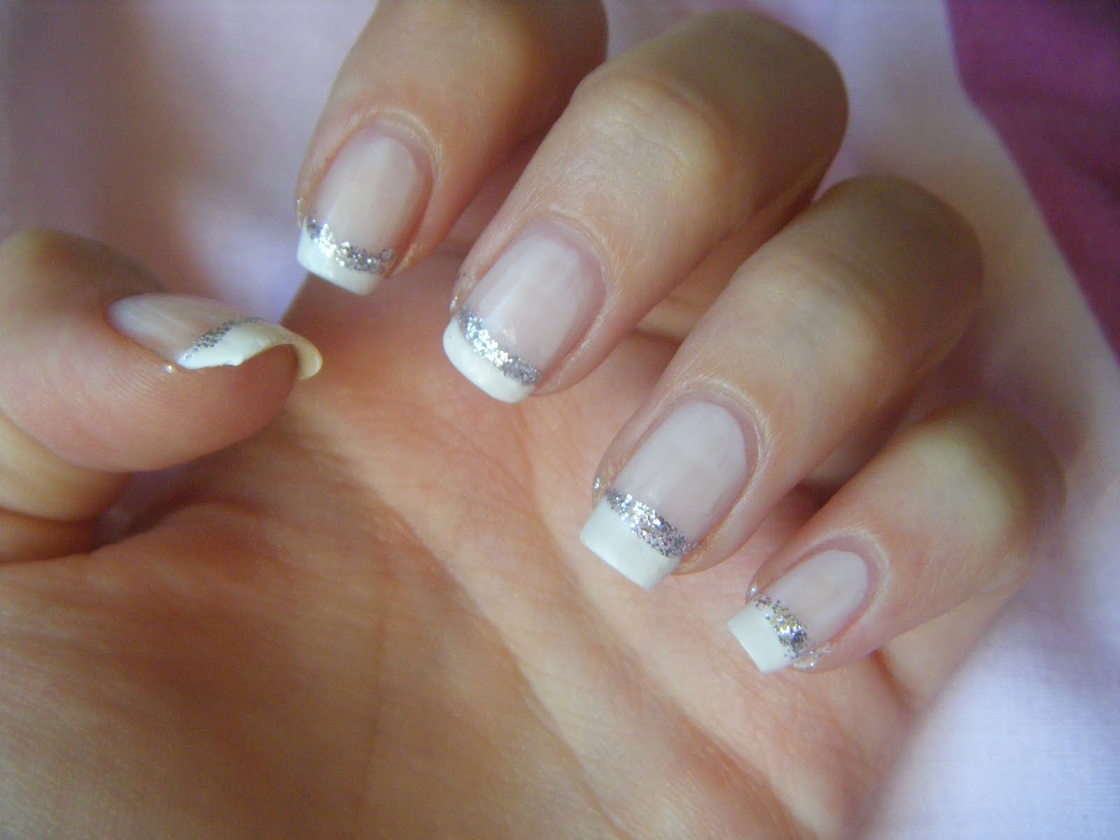 The Astounding Beauty french nail designs Images