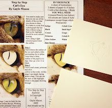 Step by Step of Cat's Eye
