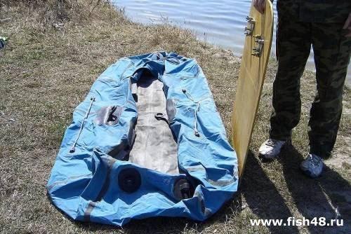 Дно для резиновой лодки