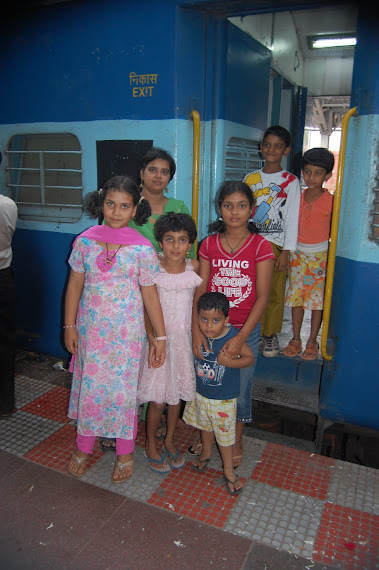 Neighbours at rly station 1