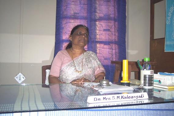 Dr.Mrs.SM Kadeangadi
