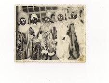 Os mascarados no Clube Recreativo Sete de Setembro em Xique-Xique