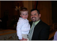 My son Bill with his son Nathan