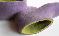 etsy stalkers, onstail, eco conscious, felt shoes, etsy blog, felt purse