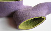 etsy stalkers, onstail, eco conscious, felt shoes, etsy blog, felt purse