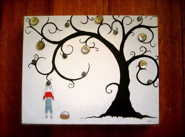 jodi wiley sketchblog  updated post  a button tree