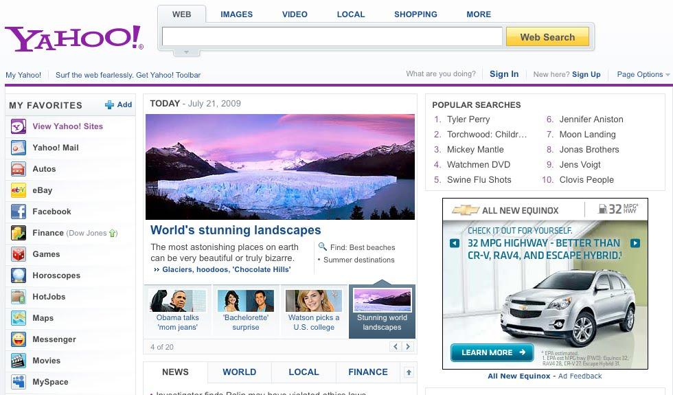 Yahoo singles profiles