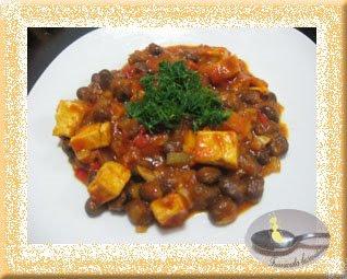 Ful cu tofu si chilli