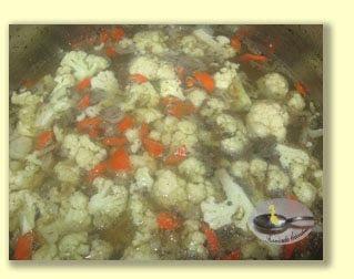Supa de conopida cu pipote
