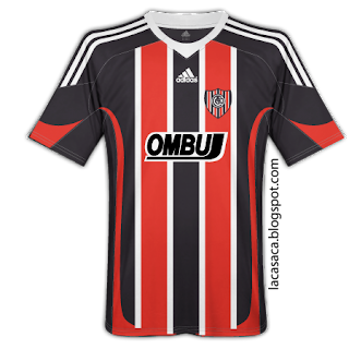 Camisetas de clubes argentinos con otras marcas