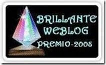 The Brillante Blog Award 2008 - received from Mama Dawg at http://twodogsrunningsouth.blogspot.com