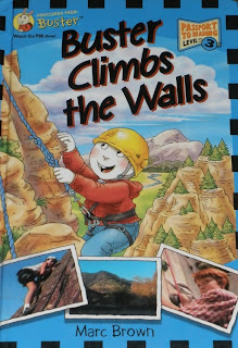 Cover image of Buster Climbs the Walls