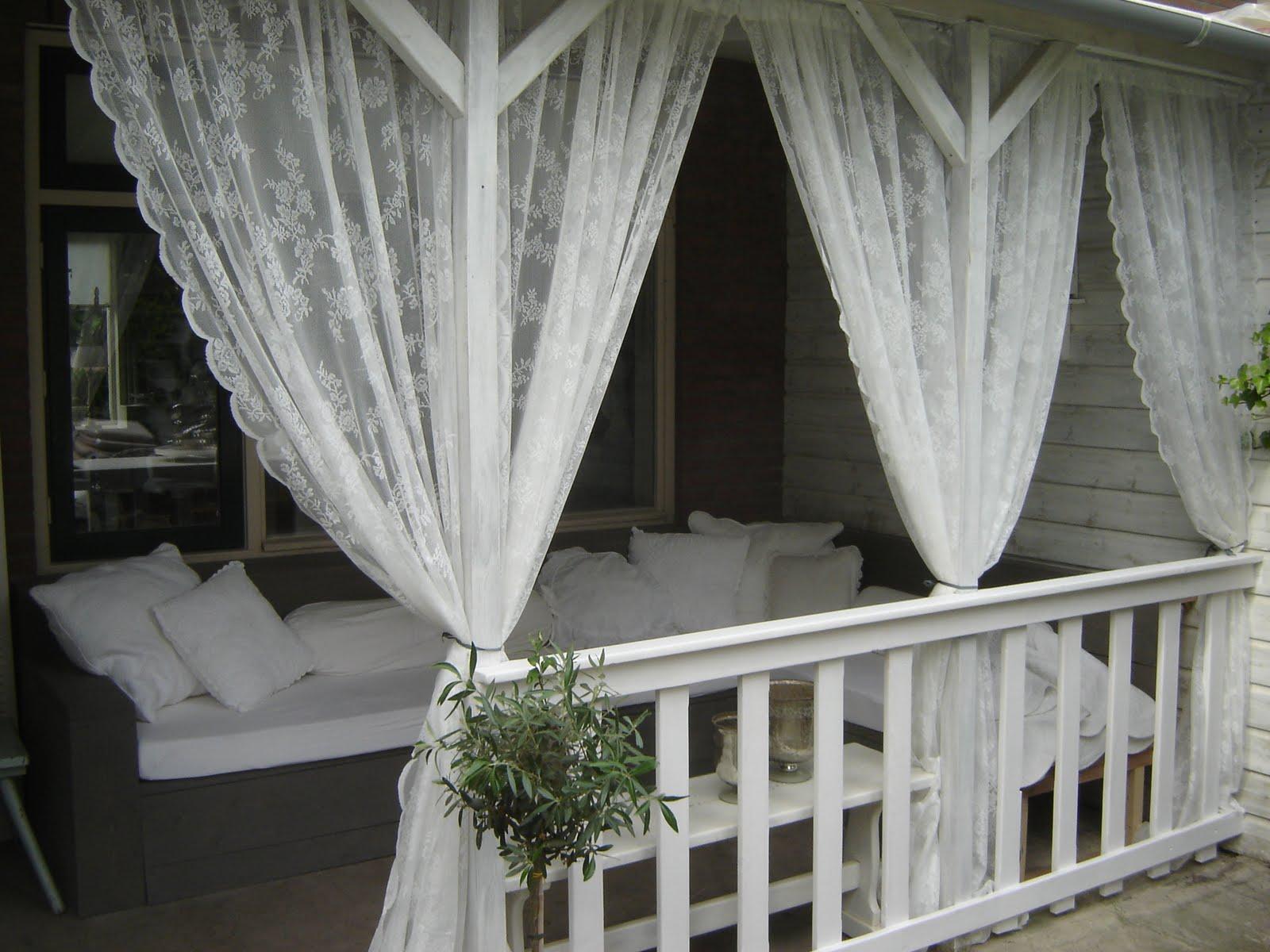 Luxe landleven tweede woonkamer for Romantische gordijnen