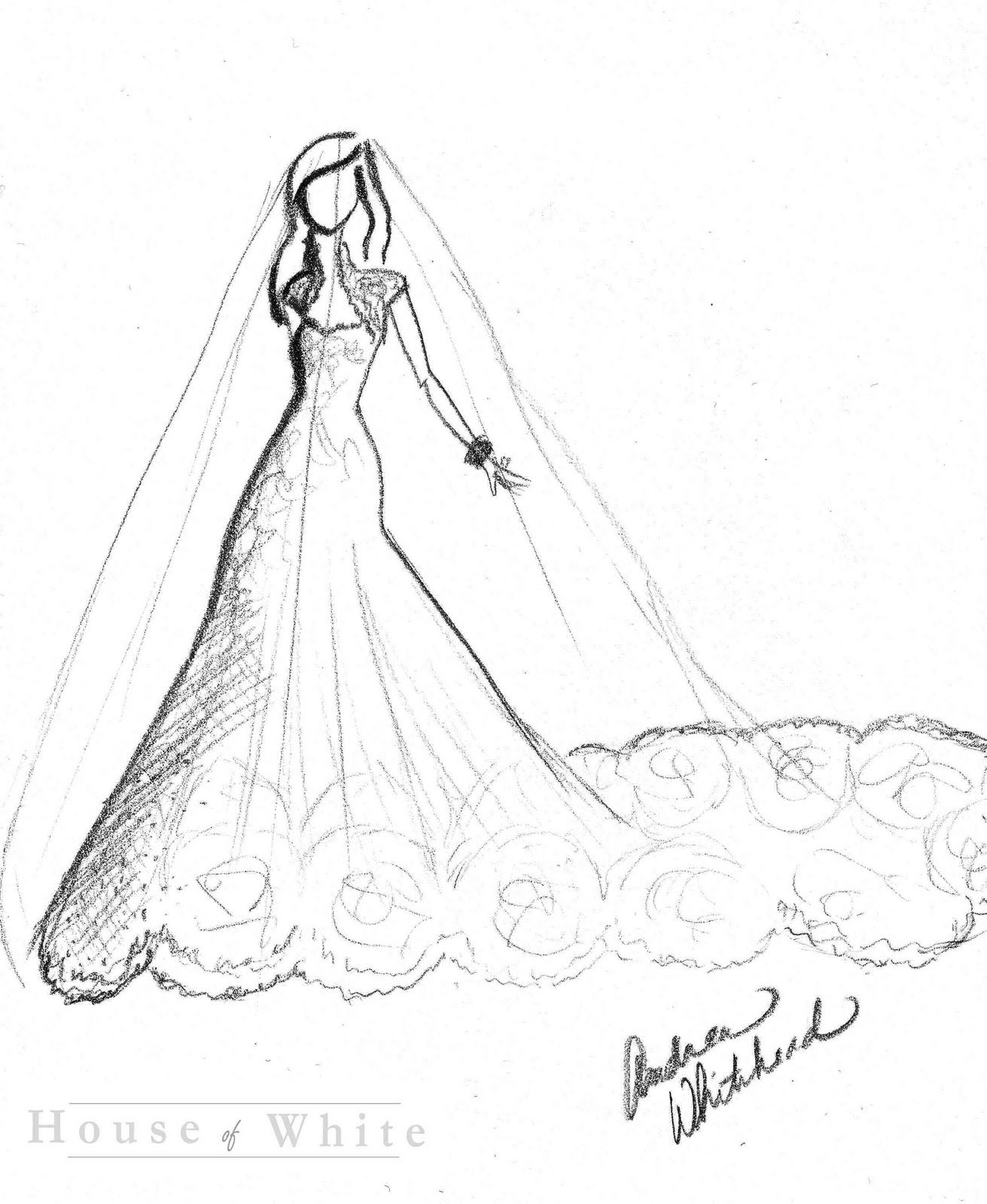 Displaying 17 gt images for how to draw wedding dress sketches