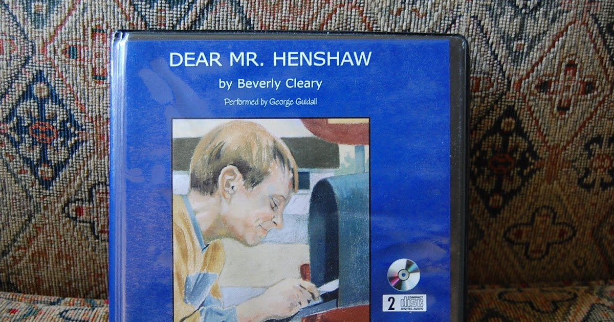 Dear mr henshaw book report