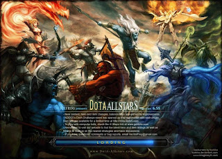 Dota-Allstars 6.55 Loadscreen