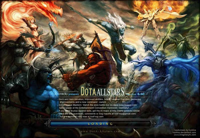 Dota 6.60 Allstars map and changelogs