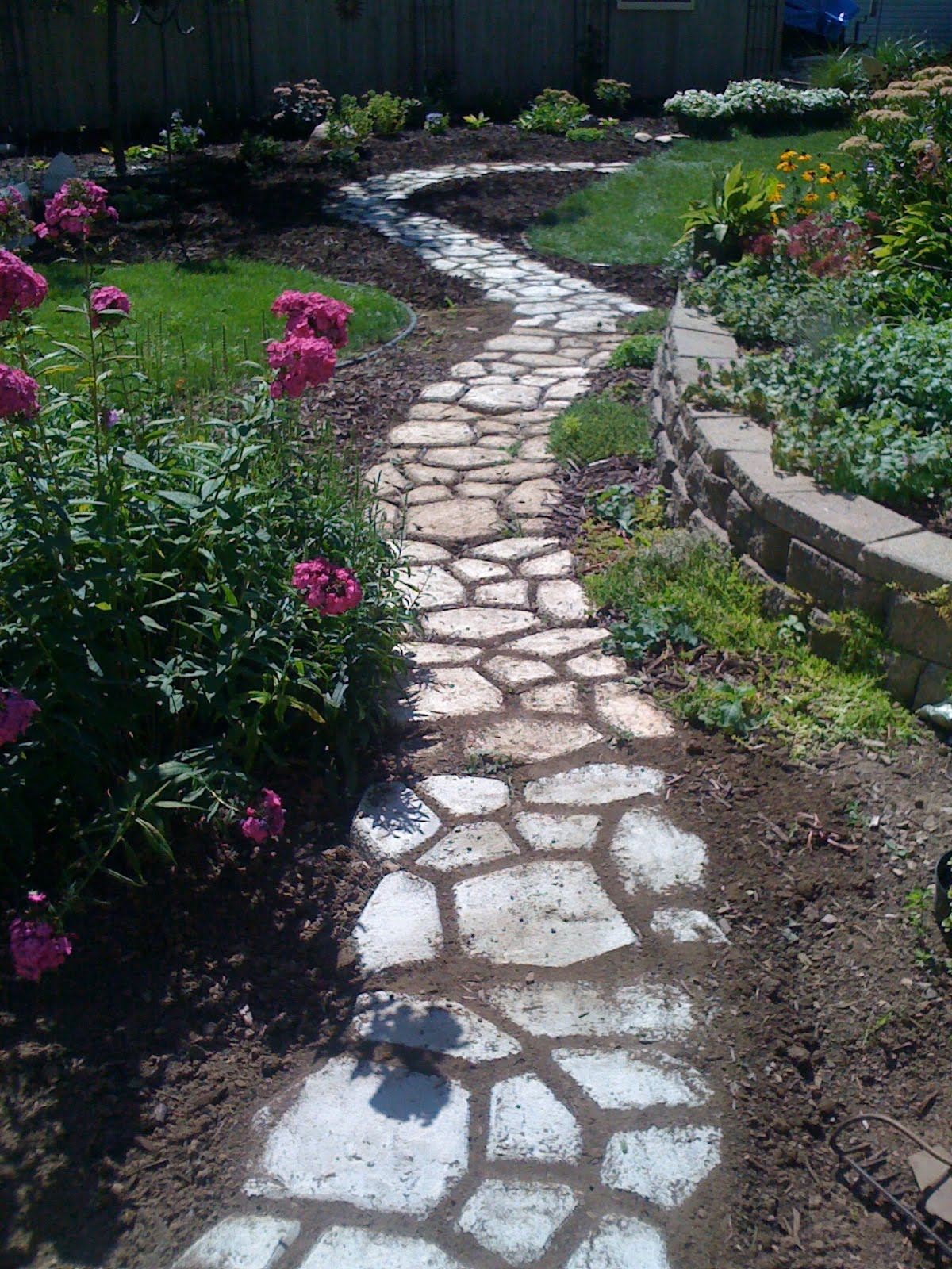 Our Garden Path Pathway Start And End