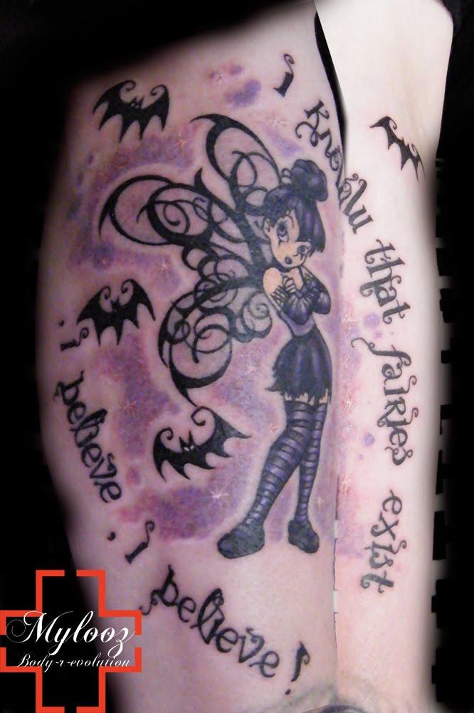 tatouage lettrage prenom gothique madison tattoo images  - Tatouage Gothique Avant Bras