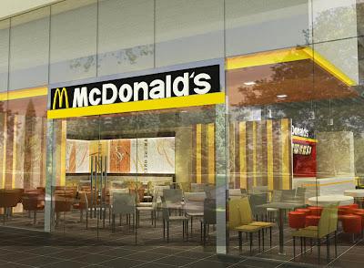 ... In Malaysia: Mcdonalds, Singapore - 3D Restaurant Rendering