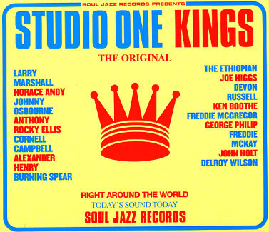 Le reggae Studio+one+king