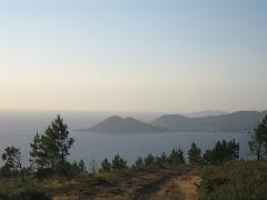 Monte Louro dende o Monte Enxa.
