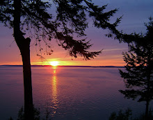 Sunset on Camano