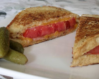 Two classics in one, the grilled cheese sandwich & the BLT