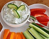 Cucumber Dip with Feta