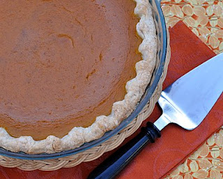 Honey Pumpkin Pie by A Veggie Venture