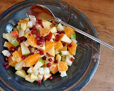 Mexican Fruit Salad, a light and simple fruit salad with a surprising mix of spices and fruits.