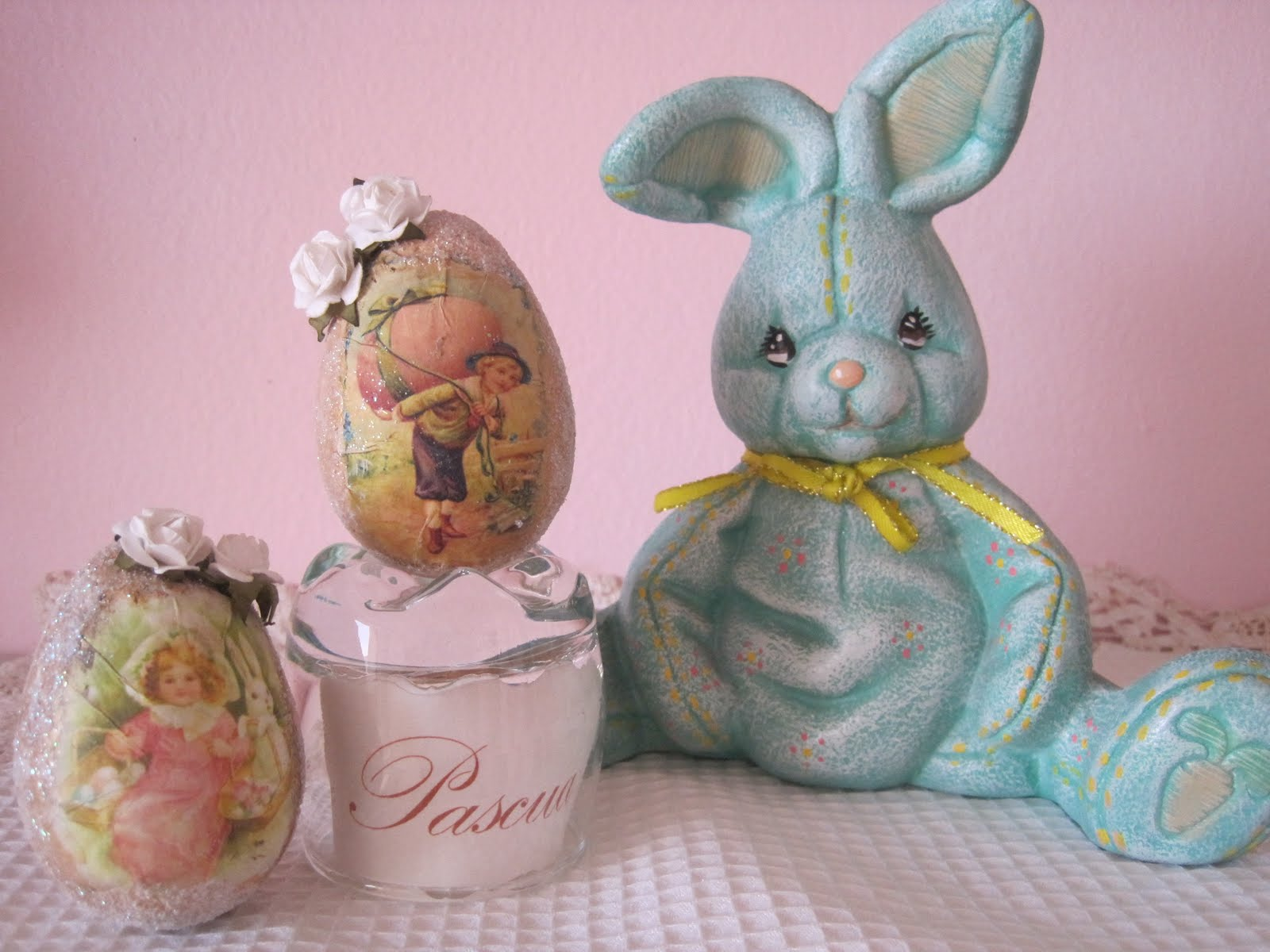 Atelier de Charo: Decoración Vintage de Pascua - Vintage Easter Decor